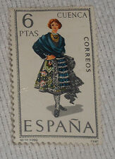 Spain Postage Stamp 1968 6 PTAS Cuenca Correos Provincial Costumes Hinged