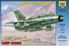 ZVEZDA 7259 SOVIET FIGHTER MIG-21BIS FISHBED-L SCALE MODEL KIT 1/72 NEW