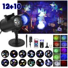 LED Projektor Laser Lichteffekt Strahler Xmas Innen Außen Garten Deko Halloween