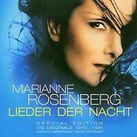Lieder der Nacht-Special ed. von Marianne Rosenberg | CD | Zustand gut