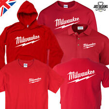 """Milwaukee Power Tools Logo T-Shirt Size Toddler 6T /""""Authentic From Milwaukee/"""""""