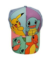 Nintendo Pokemon Adjustable Cap Youth Sz OSFM 2017 Pikachu Charmander RN 115665