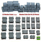 1/35 Universal Wooden Crates #8 - Value Gear Details - 22 pcs Resin Stowage
