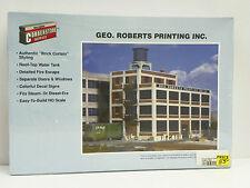 "Walthers/Cornerstone Ho U/A ""Geo. Roberts Printing, Inc."" Plastic Model Kit"