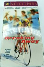 Breaking Away VHS Movie NEW Little 500 Race Indiana University Cutters Cycling