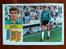 Cromo Bermell coloca liga 82 83 ediciones este temporada 1982 1983 fútbol