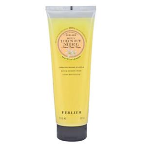 Perlier Miele Honey and Lemon Bath / Shower Cream  8.4 oz  New and Sealed