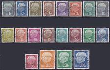 Saarland OPD 409 - 428, 427 u. 428 geprüft Ney BPP, gest. Merzig 1959, Heuss