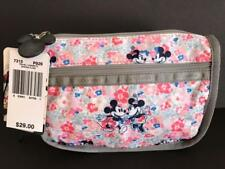 Disney LeSportsac Spring Fling Mickey Minnie Mouse Travel Cosmetic Bag $29 #7315