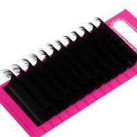 25mm Lashes Extension 20mm D C Curl Faux Mink Individual Eyelash Super Long Soft