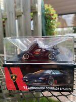 Hot Wheels RLC 82 Lamborghini Countach LP500 S in Black NIB Ships Now In Hand