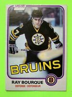 Ray Bourque NICE O-Pee-Chee NHL Hockey Card 1981-82 #1 Boston Bruins