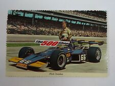 1972 Mark Donohue Sunoco McLaren Penske Indianapolis 500 Postcard Qualified