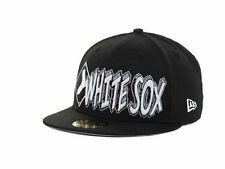 "Chicago White Sox MLB New Era 59Fifty ""The Ice"" Fitted Hat Size 7  New MLB"