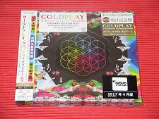 2017 JAPAN EDITION COLDPLAY A HEAD FULL OF DREAMS 2 CD with Bonus Tracks