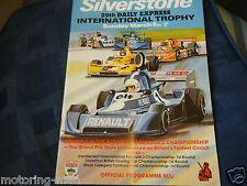 SILVERSTONE internazionale 1977 Formula 2 programma DIDIER PIRONI Alo avvocato ARNOUX