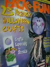 Pack-O-Fun Magazine October 2002-23 Halloween Crafts-Buckets/Scouts/Spoons