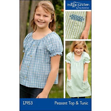 """INDYGO JUNCTION """"PEASANT TOP & TUNIC"""" Sewing Pattern"""