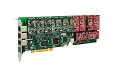OpenVox A1200P0606 12 Port Analog PCI Base Card + 6 FXS + 6 FXO, Ethernet (RJ45)