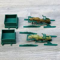 2 VINTAGE 1984 GI JOE SERIES 3 CHAMELEON SWAMP SKIER NOT COMPLETE FOR PARTS LOT