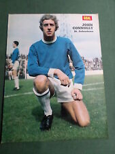 JOHN CONNOLLY - ST JOHNSTONE PLAYER-1 PAGE MAGAZINE PICTURE- CLIPPING/CUTTING