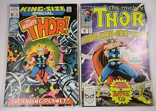 THOR KING SIZE #4 AND SUPER SIZED #400