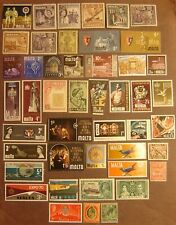 Malta 46 Different Mint Never Hinged F-VF