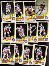 1976 O-PEE-CHEE WHA Team SET Lot of 12 Winnipeg JETS NM OPC NILSSON HULL HEDBERG