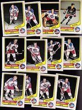 1976 O-PEE-CHEE WHA Team SET Lot of 12 Winnipeg JETS NM OPC NILSSON HULL HEDBERG
