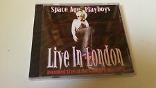 "SPACE AGE PLAYBOYS ""LIVE IN LONDON"" CD 10 TRACKS PRECINTADO SEALED"