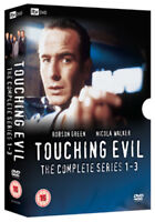 Touching Evil: The Complete Series 1-3 DVD (2008) Robson Green cert 15