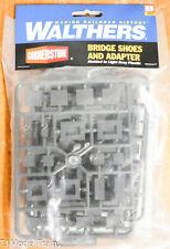 Walthers HO #933-4559 Bridge Shoes & Adapter (Plastic Parts)