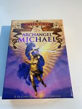 Archangel Michael oracle cards&Guidebook By Doreen Virtue AUTHENTIC complete EXC