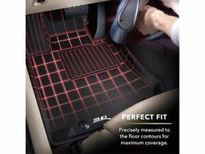 For 2012-2014 Tesla S Floor Mat Set Front and Rear 3D MAXpider 21787HN 2013