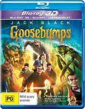 Goosebumps 3D (Blu-ray 3D)