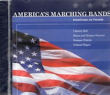 AMERICA'S MARCHING BANDS ON PARADE PLAY SOUSA AND OTHER MILITARY MUSIC ~ NEW