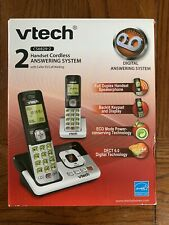 VTech CS6829 -2 Handset Cordless Phone And Answering System DECT 6.0