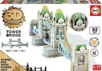 Educa Borrás - Tower Bridge, puzzle 3D (16999)
