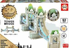 Educa Borrás - Tower Bridge, puzzle 3D (16999)