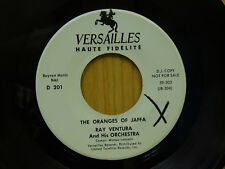 Ray Ventura jazz 45 The Oranges Of Jaffa bw The Golden Striker Versailles