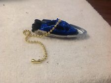 Matchbox 1-64 Die-Cast Handmade Police Boat Fan / Light Pull-Police Boat Decor