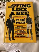 Jose TORRES Sting Like a Bee The Muhammad Ali Story First Edition 1971 Hardcover