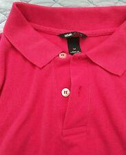 Polo Shirt H&M Pink Medium Used