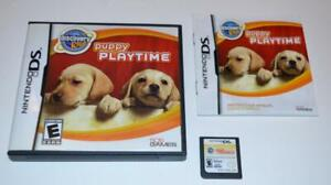 DISCOVERY KIDS: PUPPY PLAYTIME NINTENDO DS GAME 3DS 2DS LITE CIB COMPLETE MANUAL