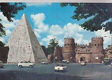 BF23491 piramide di caio cestio e porta s paolo  roma  italy  front/back image