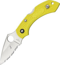 New Spyderco Folding Pocket Knife Dragonfly 2 SC28SYL2