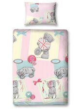ME TO YOU TEDDY 'VINTAGE' ROTARY SINGLE QUILT COVER SET