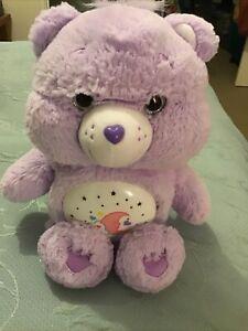 Care Bear Musical Light Up Lullabye Purple Bear