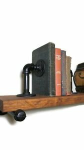 Industrial Style Book Ends Made From Industrial Pipe! Vintage Style!