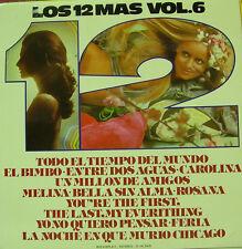 LOS 12 MAS VOLUMEN 6-TODO EL TIEMPO DEL MUNDO + EL BIMBO + ENTRE DOS AGUAS +